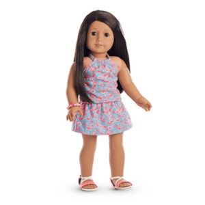 american girl flamingo outfit
